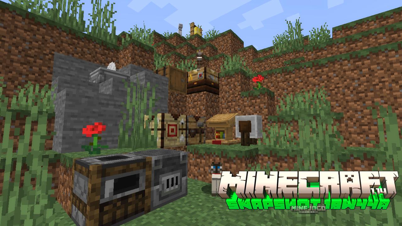 Minecraft Snapshot 18w44a | Blocos novos e gatos