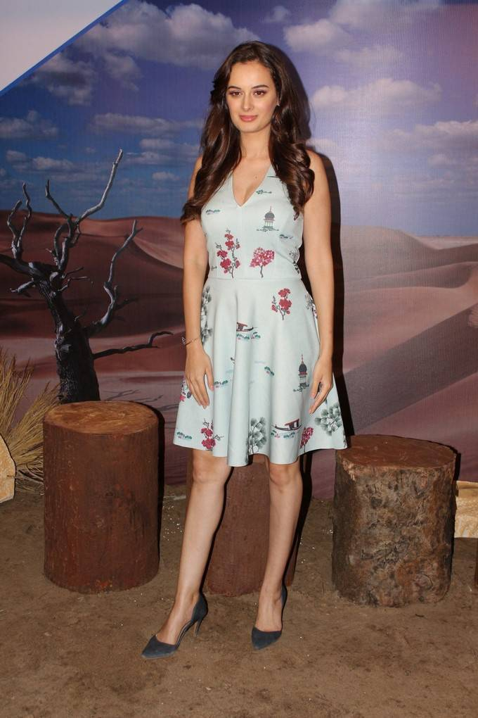 Evelyn Sharma At Stupid Man Smart Phone Web Series Interview Stills