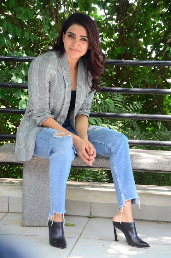 Samantha Akkineni at U Turn Interview
