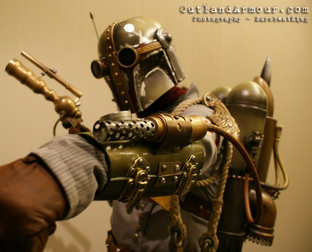 steampunk boba fett star wars cosplay