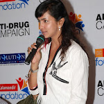 Lakshmi Prasanna Manchu at Kalamandir Anti drug campaign Sills