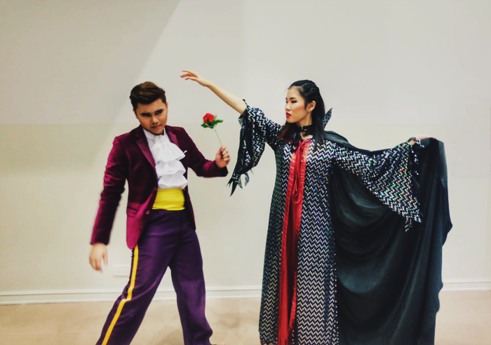 Brunei Blogger May Cho as The Enchantress of Belle: The Musical and Soon SunDee as The Prince, Relentless Entertainment