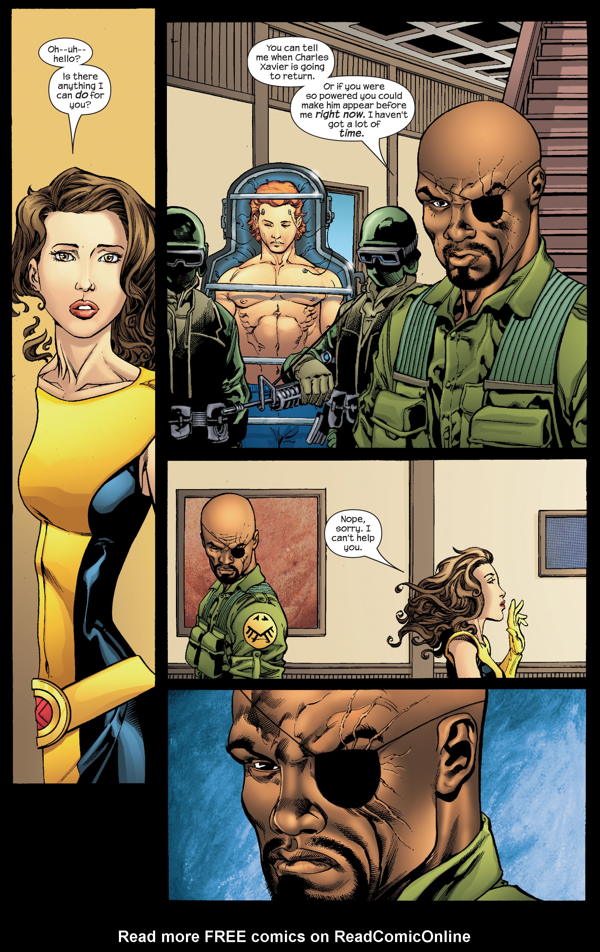 Read online Ultimate X-Men comic -  Issue #68 - 18