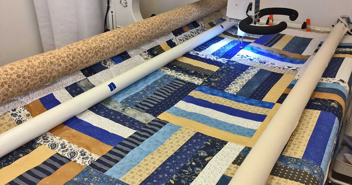 Fabadashery Longarm Quilting: Rail Fence Quilt - Quilting ...