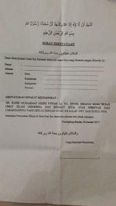 Warga NU Tolak Pengukuhan Habib Rizieq sebagai Imam Besar