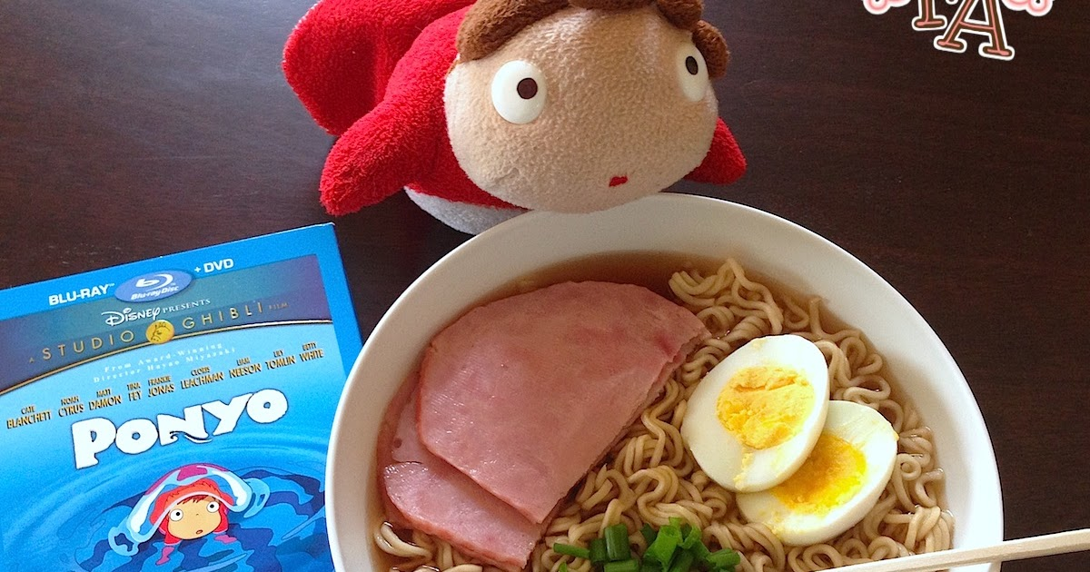 Fiction Food Café Ramen Soup W Ham Ponyo