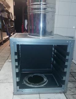 foto caja de filtros en restaurante