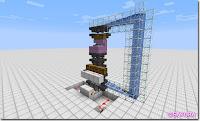 Minecraft Redstone Circuit 水流式アイテムエレベーター 大量運搬バージョン