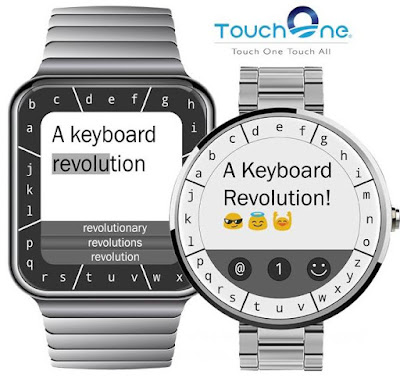 Coolest Smartwatch Attachments - TouchOne Keyboard