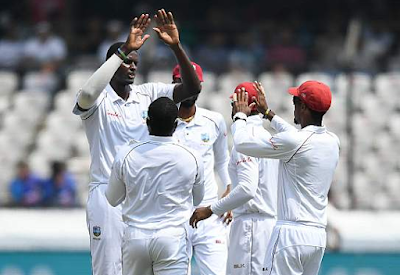 Windies battle back with three major wickets