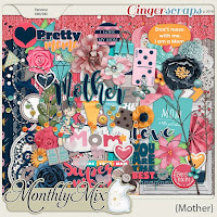 Kit : Mother by GingerScraps designers
