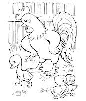 הברווזון המכוער לצביעה