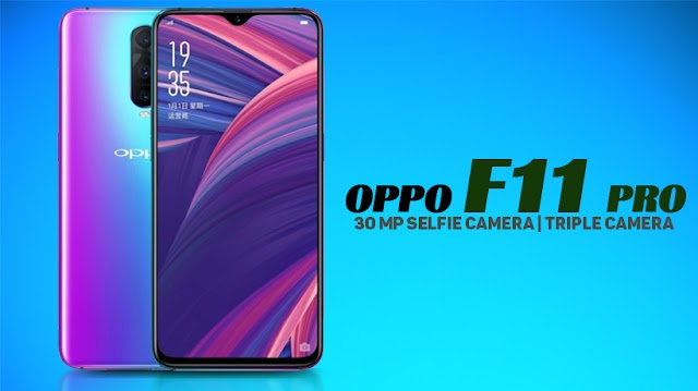 OPPO F11 Pro With a Sylphy pop-up camera, a 4000mAh battery was launched in India