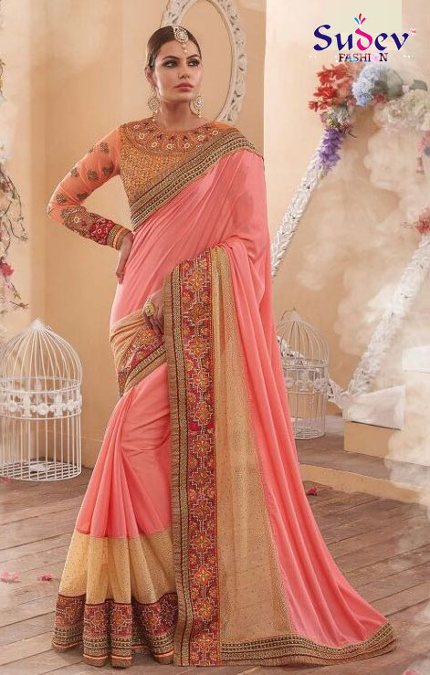 Latest Fashion Trends Of Designer Embroidery Sarees