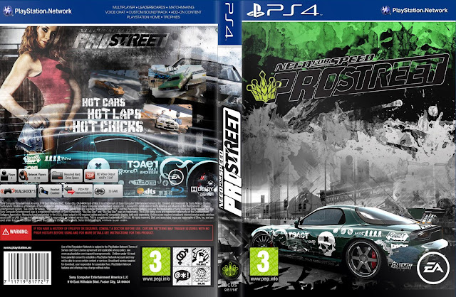 Capa Need For Speed Pro Street PS4
