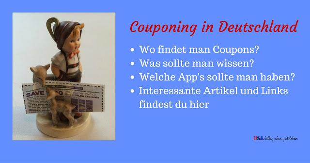 Woher bekommt man Coupons und andere interessante Themen zum couponen