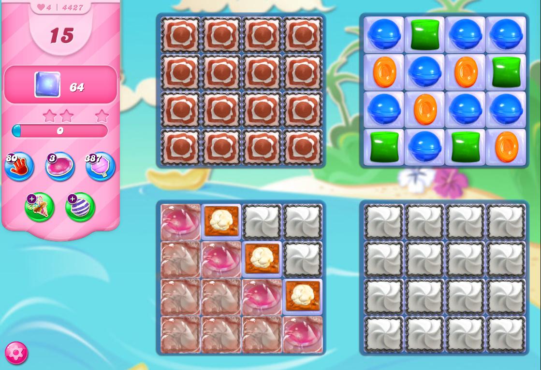 Candy Crush Saga level 4427