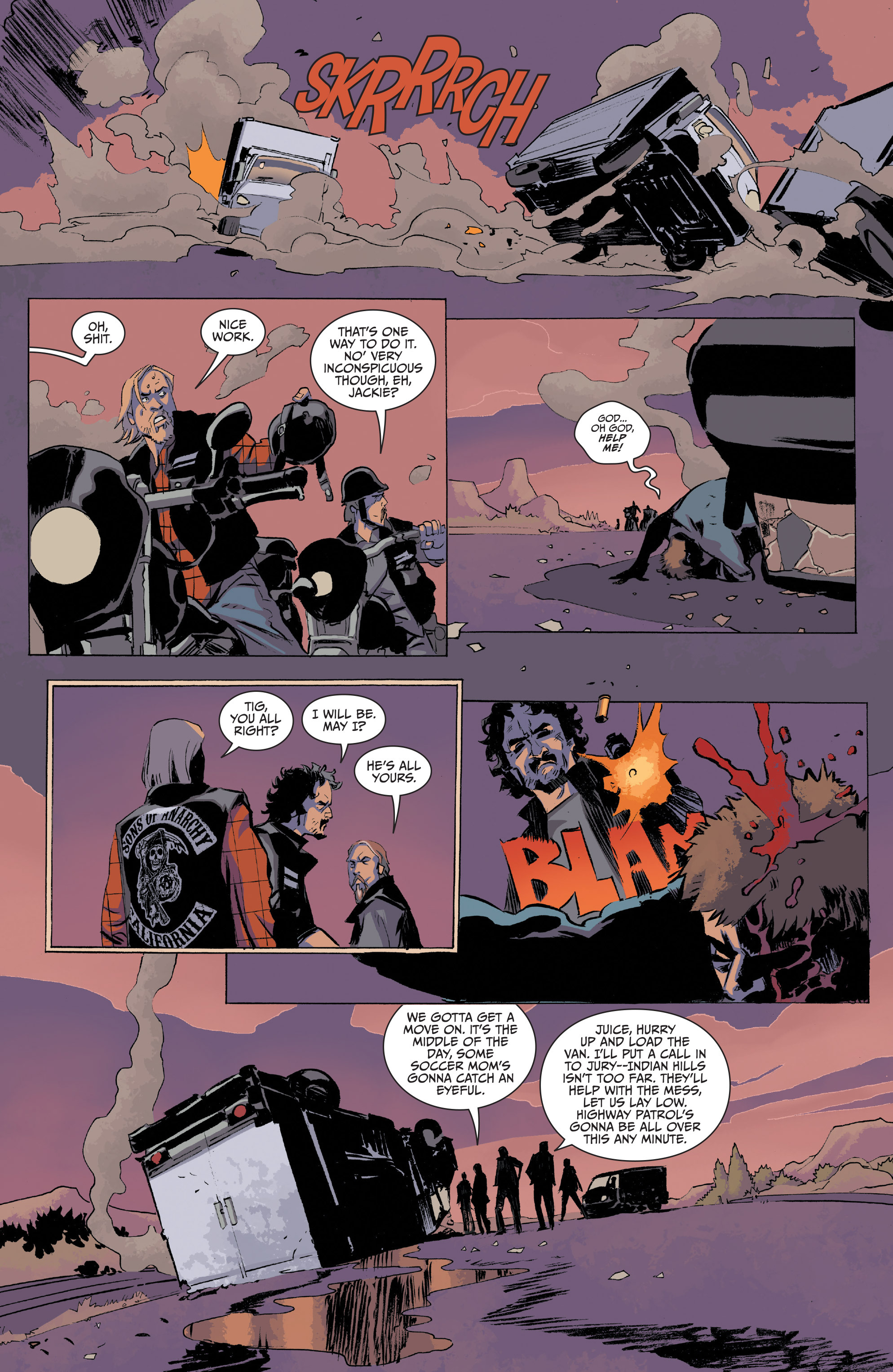 Read online Sons of Anarchy comic -  Issue #20 - 16