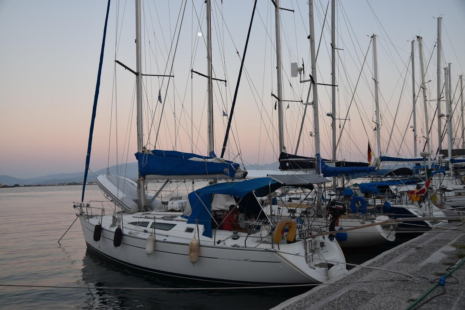 přístav Preveza Řecko