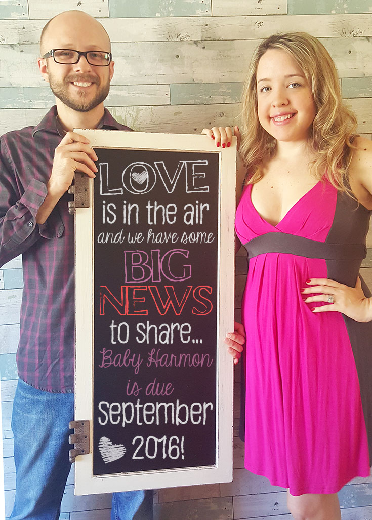 Iu0027m Super Excited To Share That We Are Finally Expecting! Little Baby  Harmon Is Due In September 2016 And Both My Husband And I Are Thrilled!