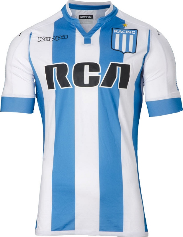 82d2c92d73 Kappa lança as novas camisas do Racing Club - Show de Camisas