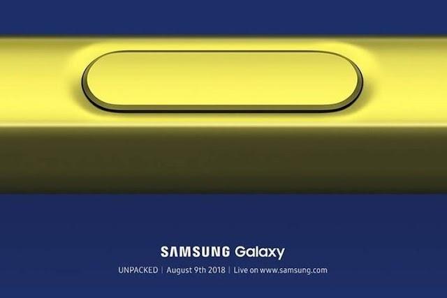 Wujud Galaxy Note 9 Diumbar di Situs Samsung