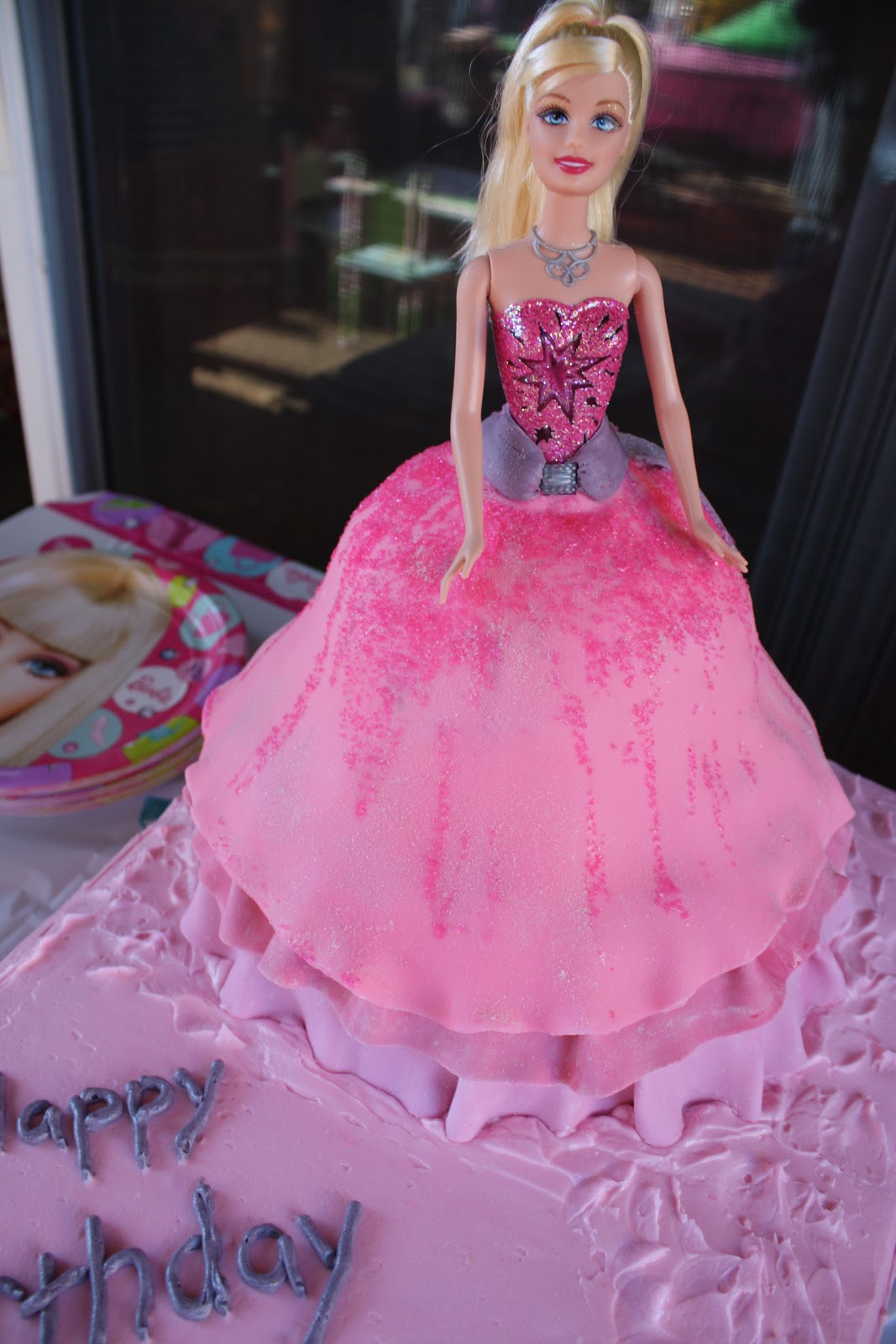 Barbie Fashion Fairytale Birthday Cake