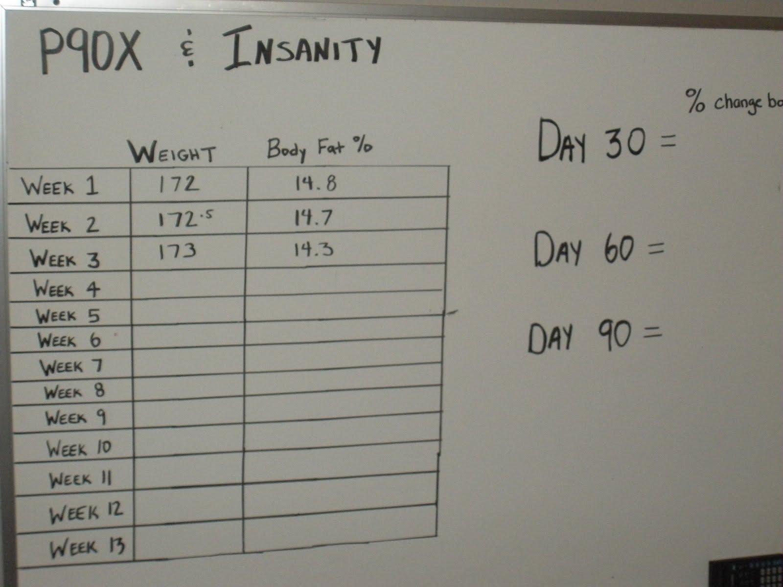 P90x Insanity Hybrid Workout