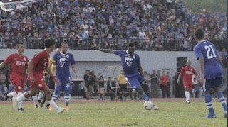 Persib Bandung Menang 11-0 atas Ewako Batam FC
