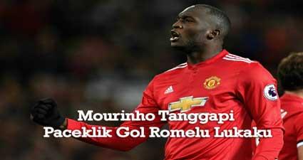Mourinho Tanggapi Paceklik Gol Romelu Lukaku