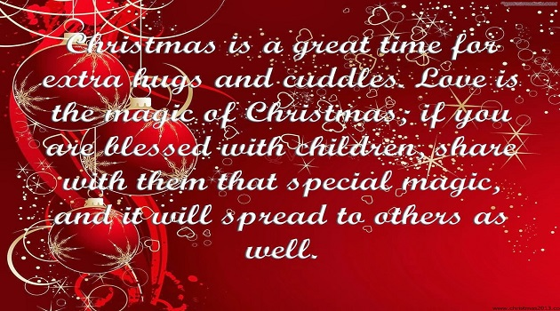 Amazing Christmas Day Quotes For Family: