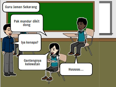 perbedaan guru jaman sekarang vs jaman dulu