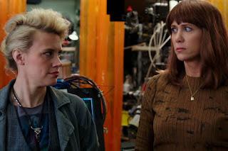 Kate McKinnon Kristen Wiig Ghostbusters 2016