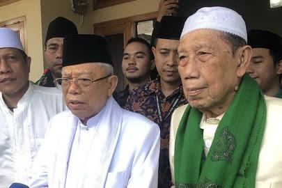 Barnus Jabar Deklarasi Dukung Jokowi, Ma'ruf Optimis Rais 70 Persen Suara