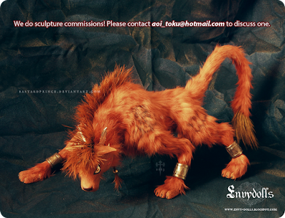 redxiii sculpture