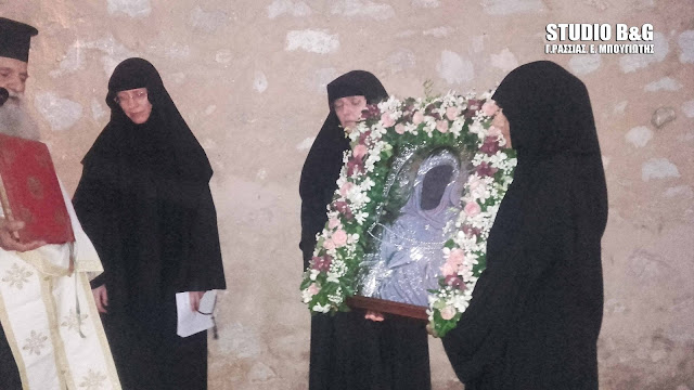 Πανηγυρίζει η Ιερά Μονή Αγνούντος στην Νέα Επίδαυρο