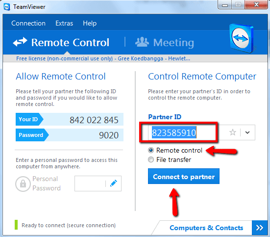 تحميل برنامج teamviewer للكمبيوتر والاندرويد والايفون مجانا 2019