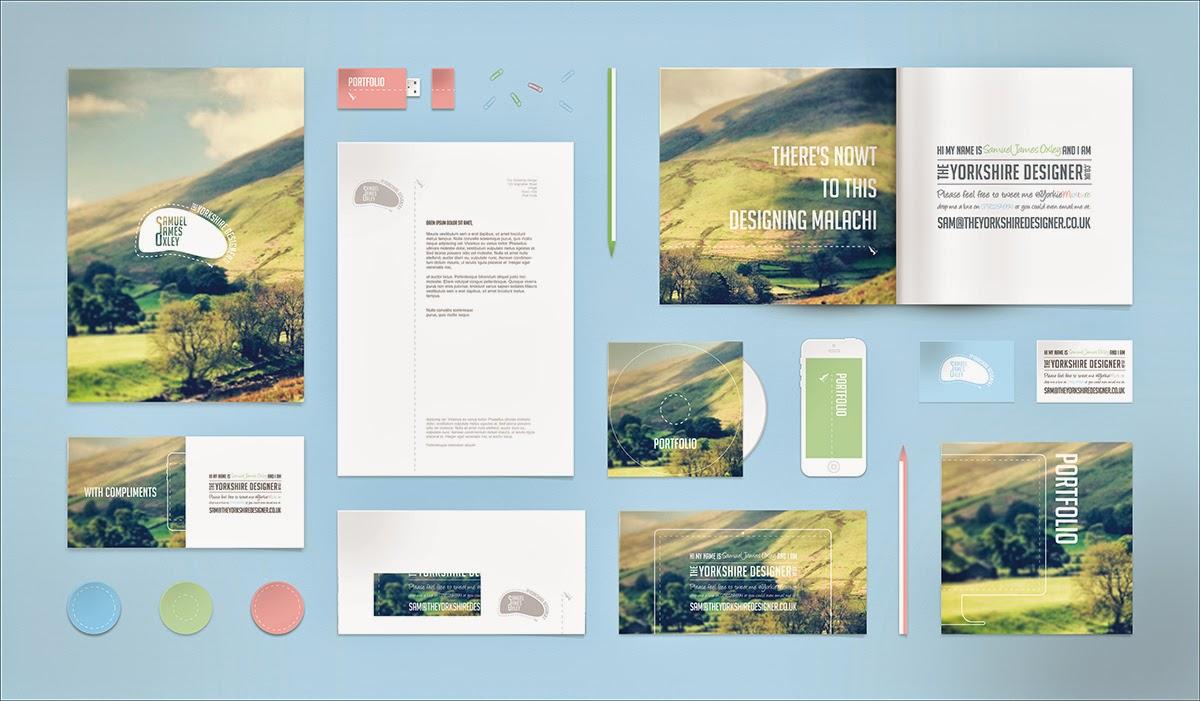 Branding/Identity/Stationery PSD Mockups