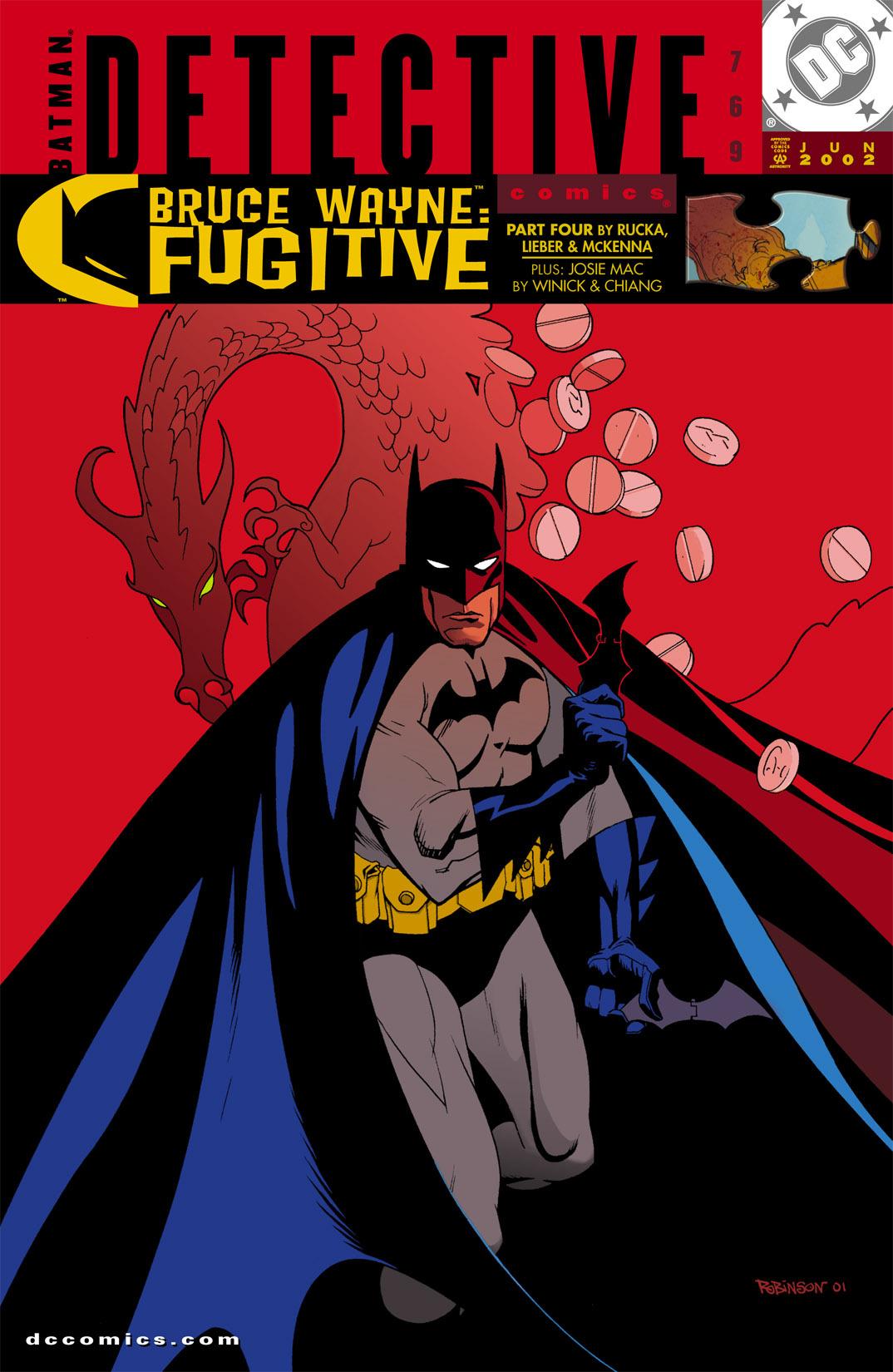 Detective Comics (1937) 769 Page 1