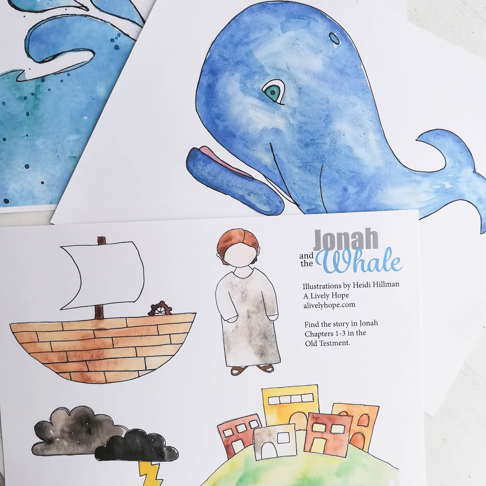 graphic about Jonah and the Whale Printable referred to as A Energetic Assume: Jonah and the Whale Paper Perform Established (no cost