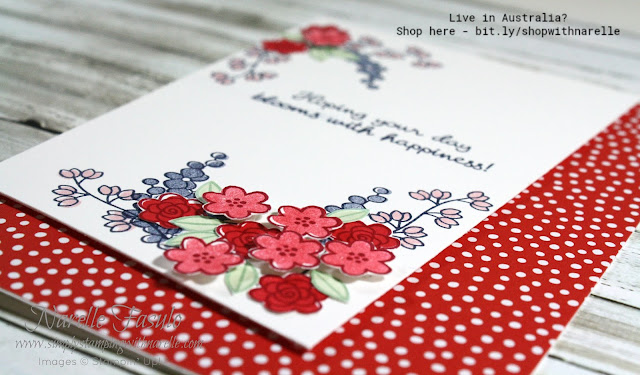 Varied Vases is such a versatile stamp set. Match it with the coordinating punch and  you can make quick and easy cards or more elaborate cards like this. Get  yours here - https://www3.stampinup.com/ECWeb/product/148381/varied-vases-photopolymer-bundle?dbwsdemoid=4008228
