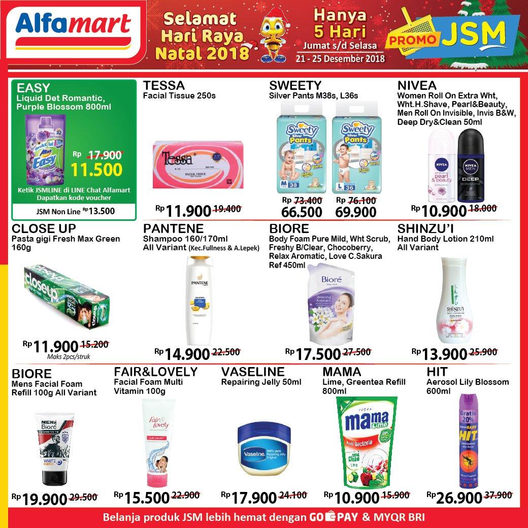 #Alfamart - Promo Katalog JSM Periode 21 - 25 Desember 2018