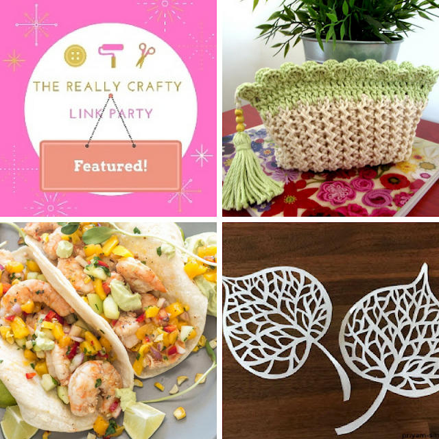 The Really Crafty Link Party #119 featured posts