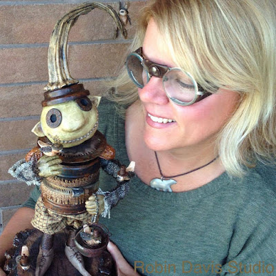 Steampunk Art Sculpture - Troll - Robin Davis Studio