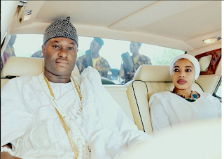 Ooni Of Ife, HIM Ogunwusi And Wife, Yeyeluwa Wuraola Gorgeous In New Photos