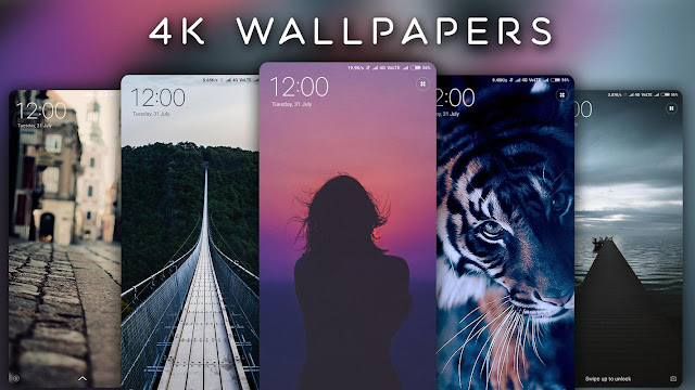 Download 4K Wallpapers – Auto Wallpaper Changer Apk cho Android