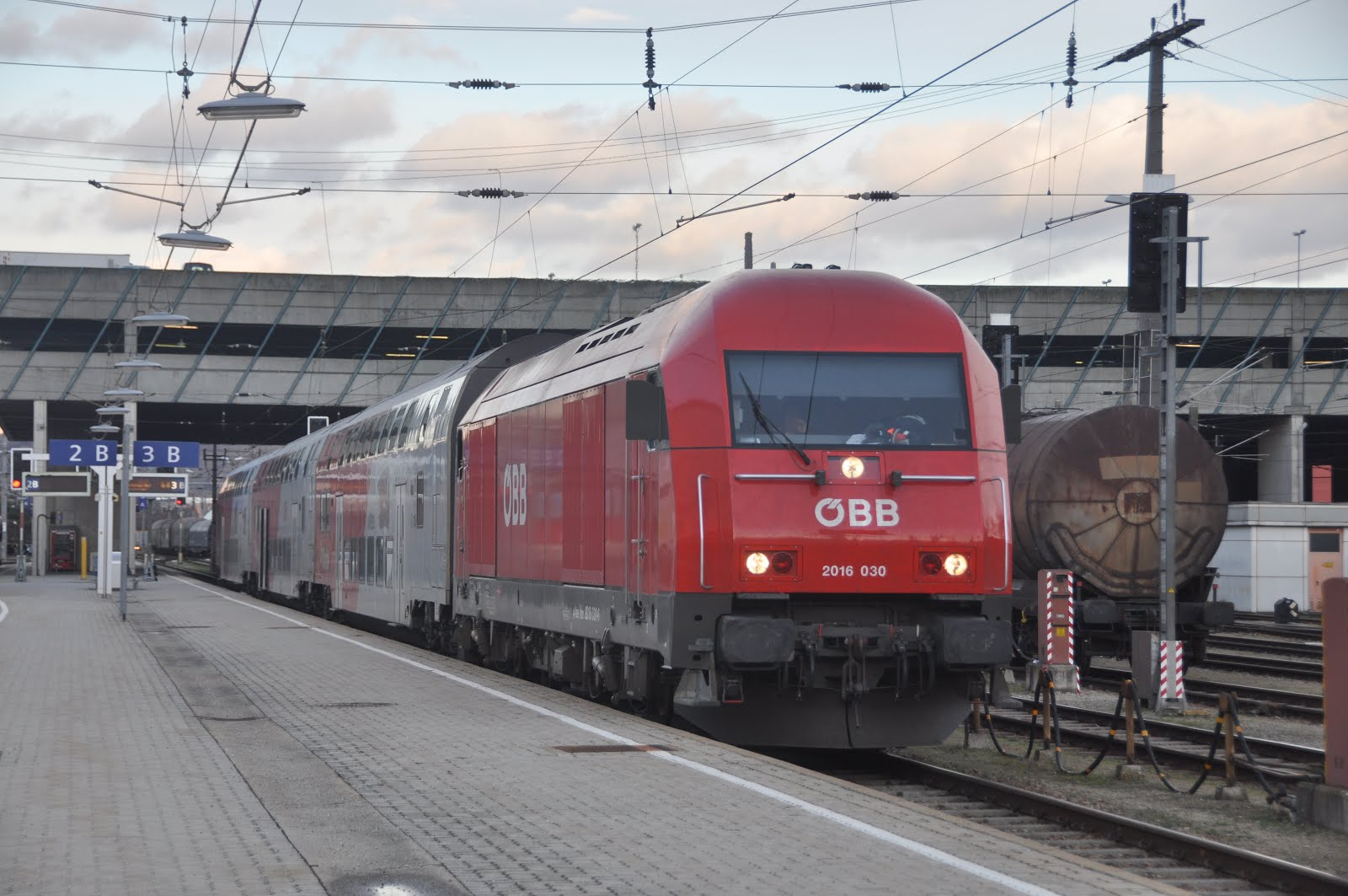 Trains Today: OBB Austria 4th-7th February 2016 Vienna and Semmering