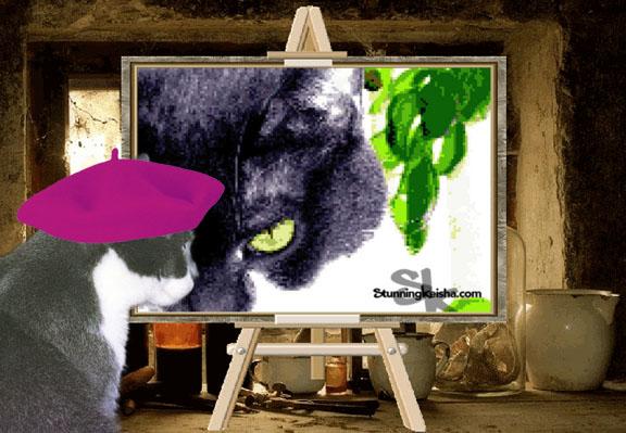 Pixelated Pussycat