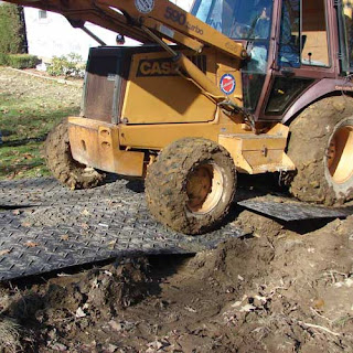 Greatmats heavy equipment traction mat