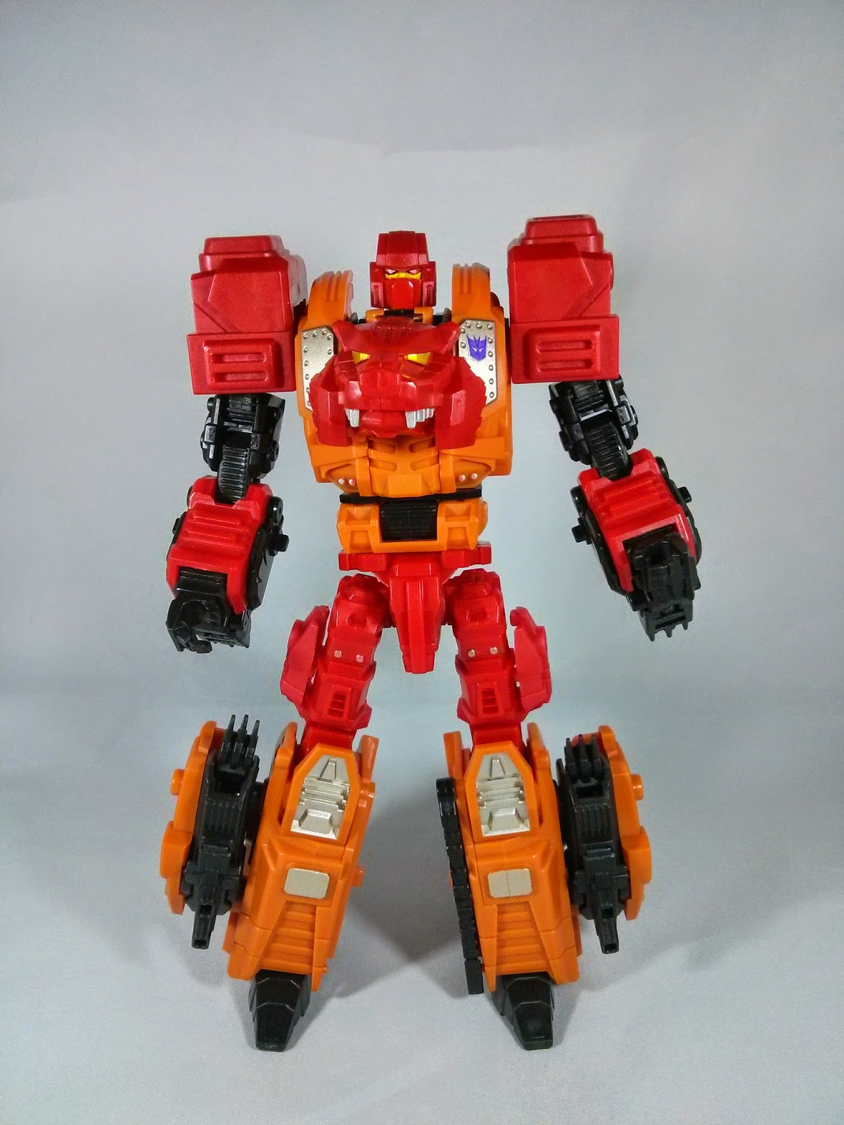 Tigris in robot mode
